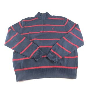 Polo Ralph Lauren 1/2 Zip Sweater Pullover